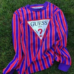 Guess striped long sleeve